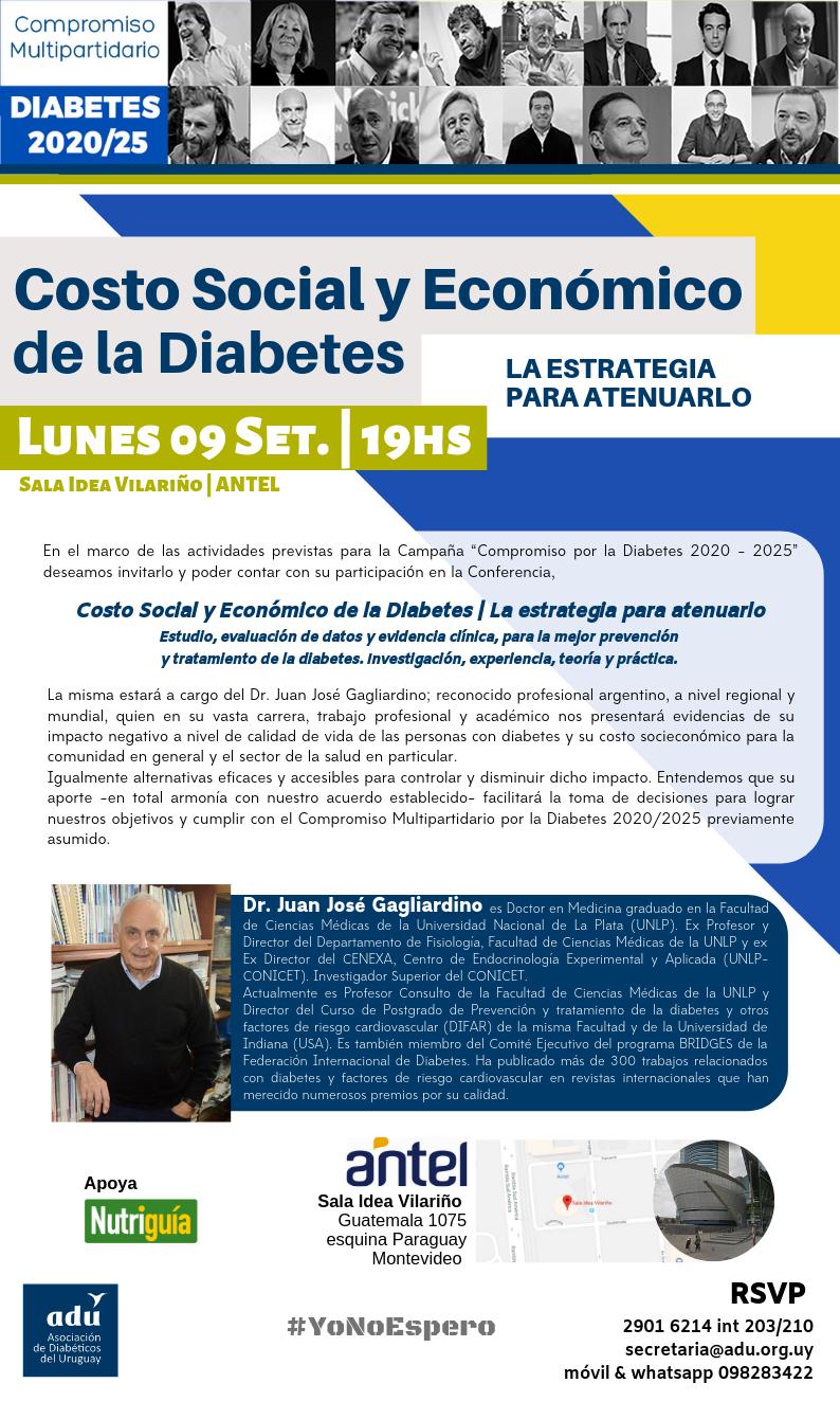 conferencias diabetes 2020